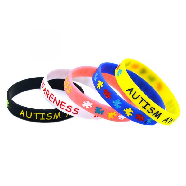 Autism Awareness wristband silicone (2)