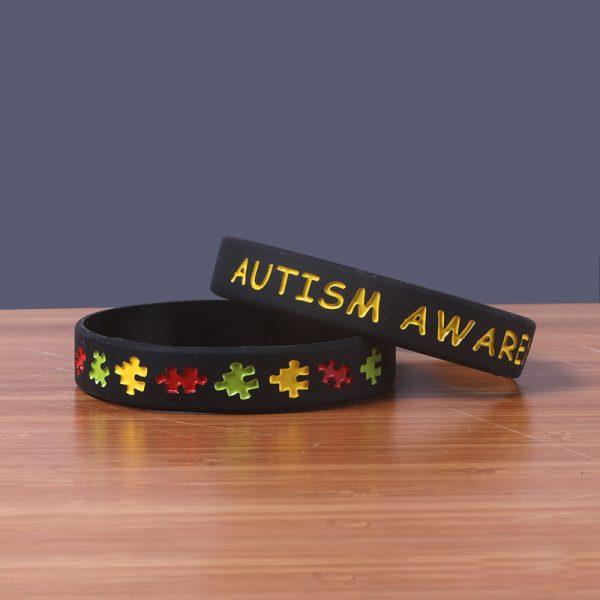 Autism Awareness wristband silicone (3)