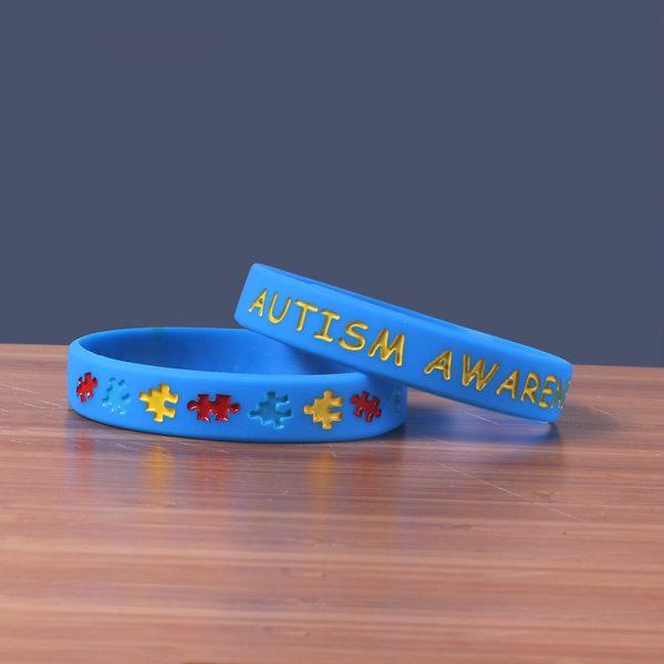 Autism Awareness wristband silicone (5)