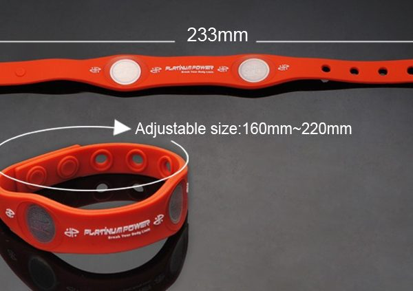 Adjustable power balance bracelet (5)