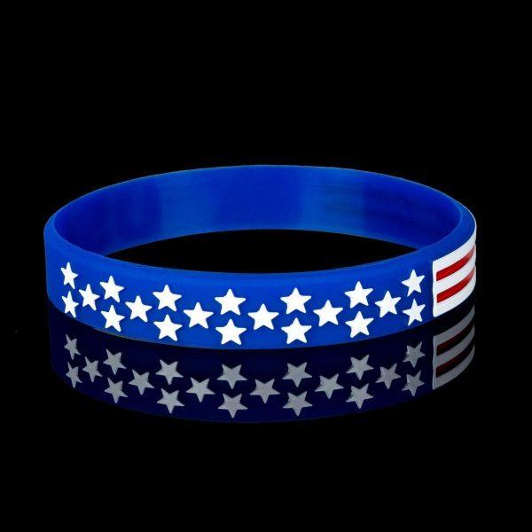 American Flag Wristbands (4)