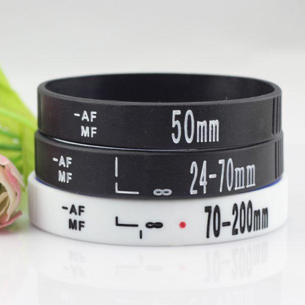 Camera Lens silicone wristband (5)