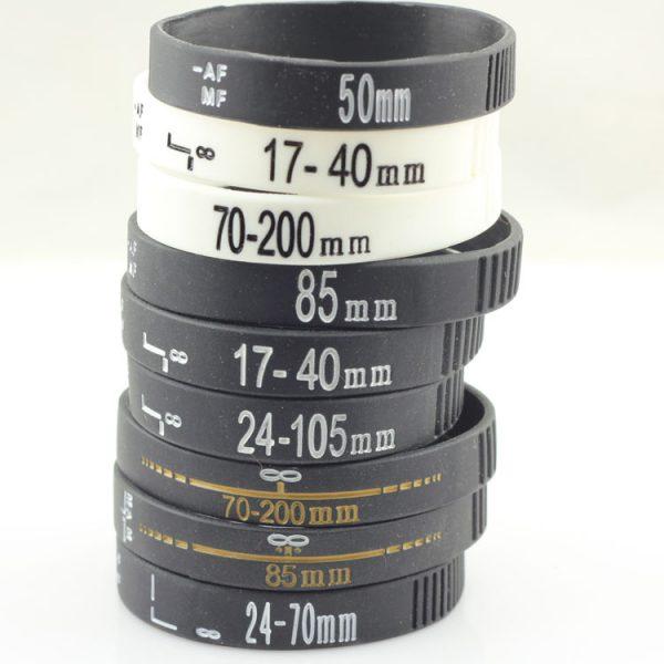 Camera Lens silicone wristband (6)