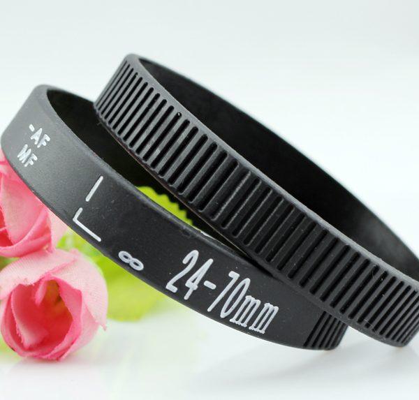 Camera Lens silicone wristband (7)