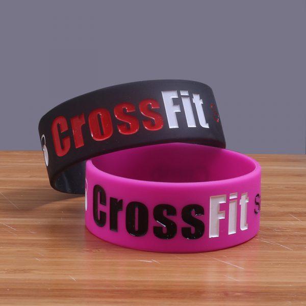 CrossFit Silicone Wristband (1)