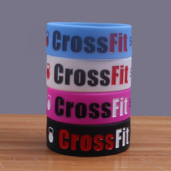 CrossFit Silicone Wristband (2)