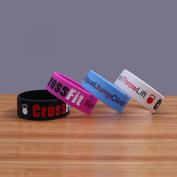 CrossFit Silicone Wristband (3)