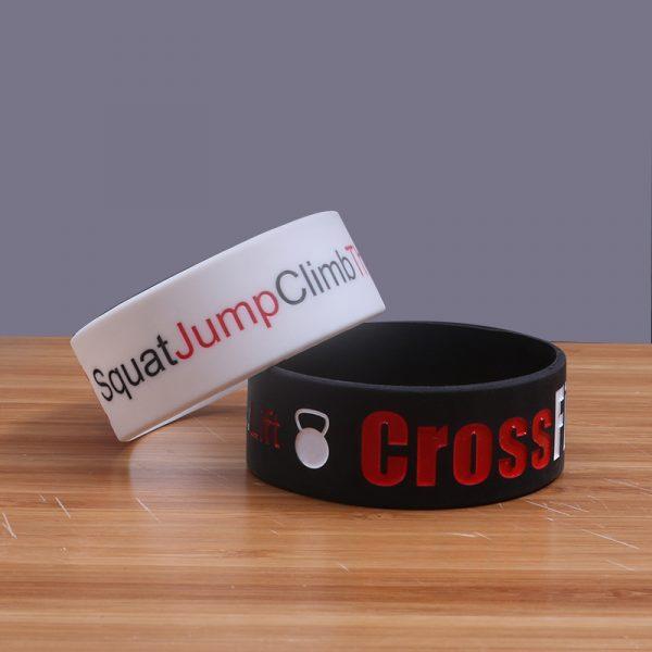 CrossFit Silicone Wristband (4)