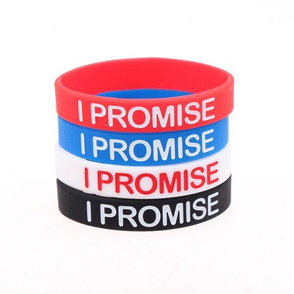 I PROMISE Silicone Bracelets (1)