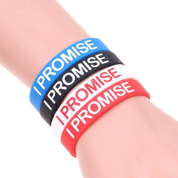 I PROMISE Silicone Bracelets (3)