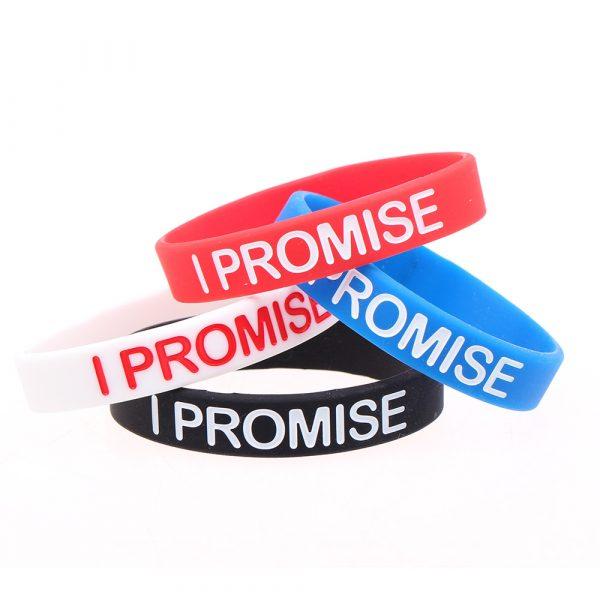 I PROMISE Silicone Bracelets (4)