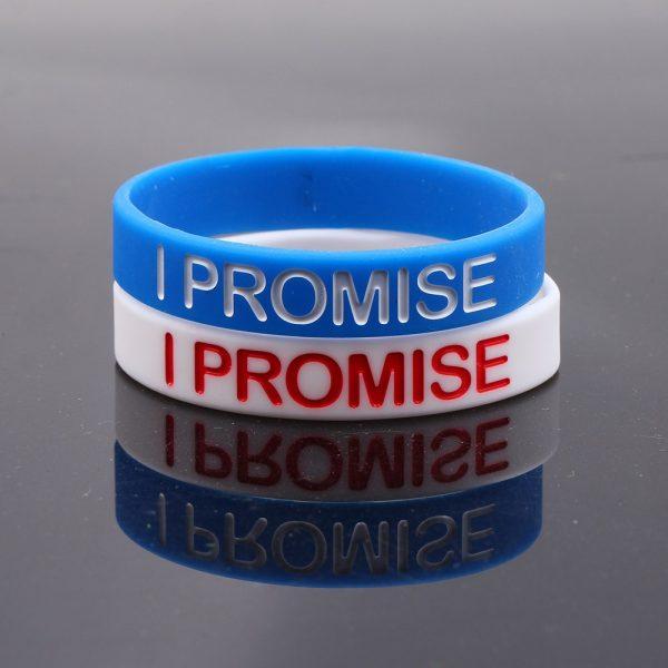 I PROMISE Silicone Bracelets (5)