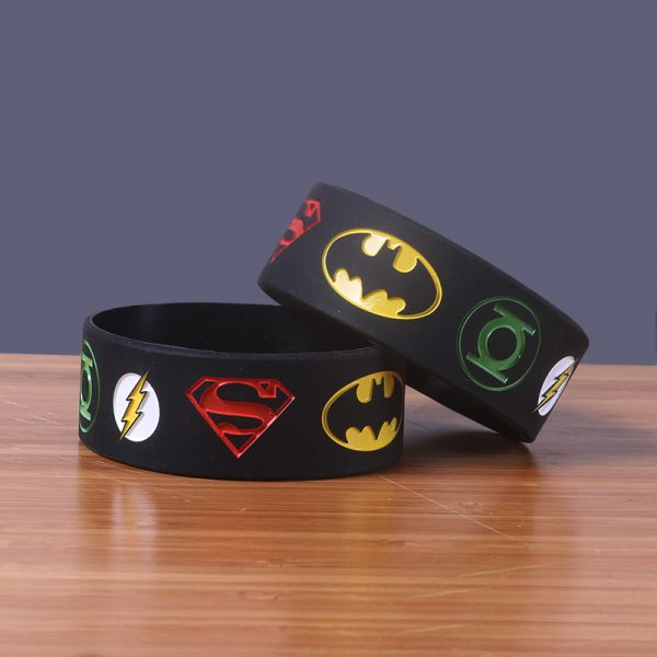 Superman silicone wristband (1)