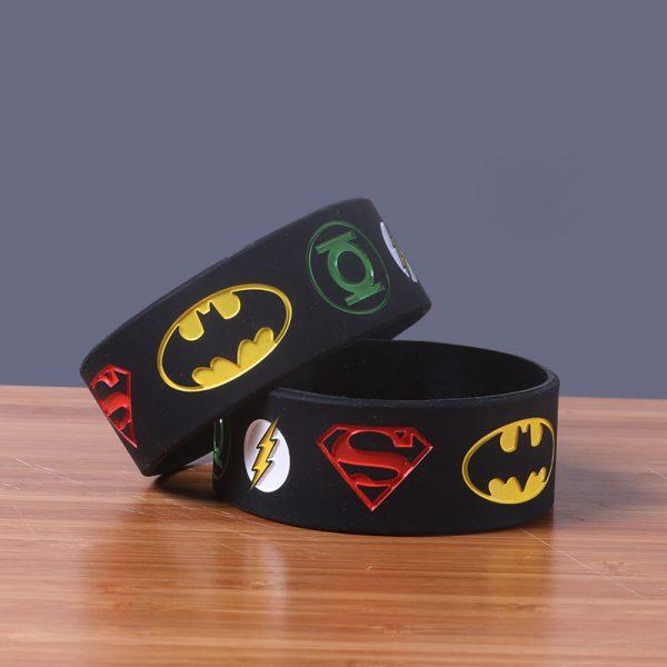 Superman silicone wristband (2)