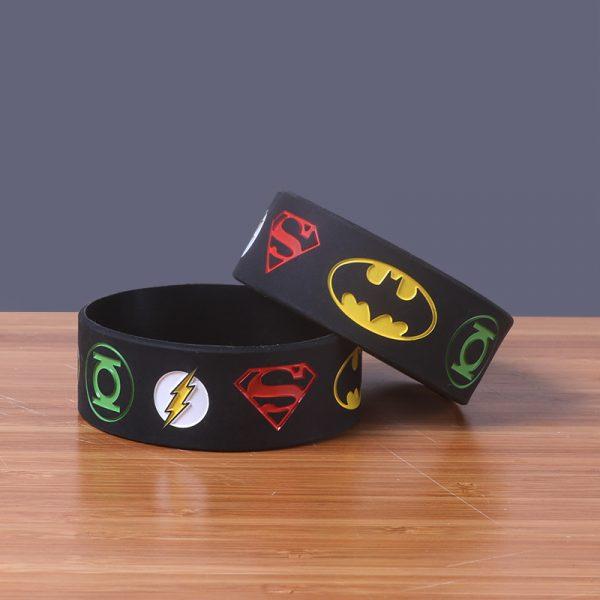 Superman silicone wristband (4)