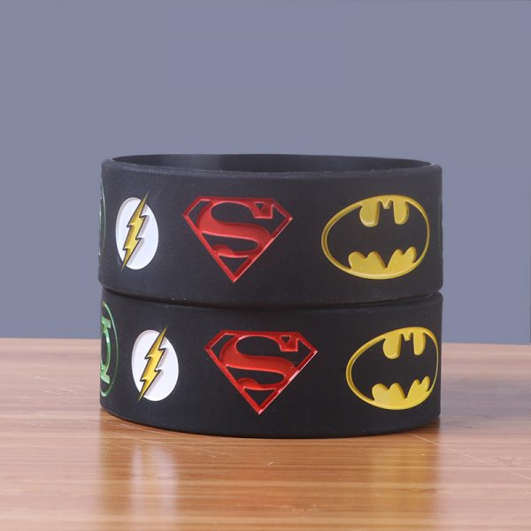 Superman silicone wristband (5)