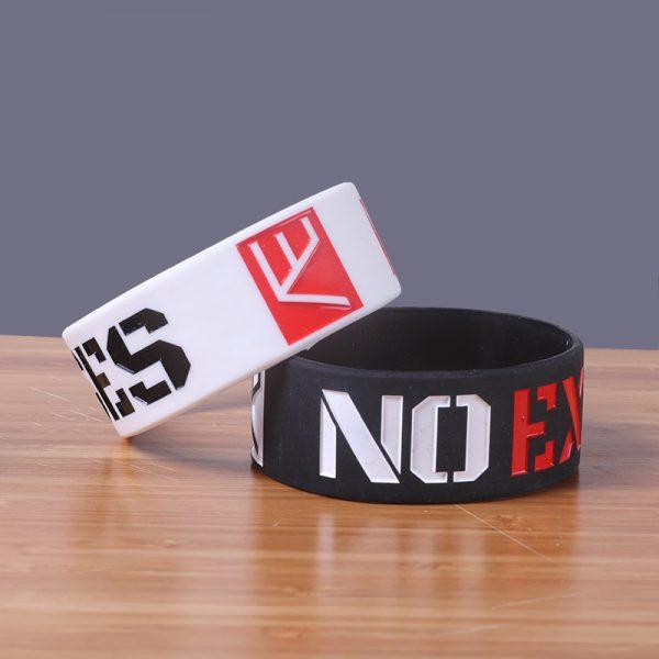 no excuse silicone wristband (5)