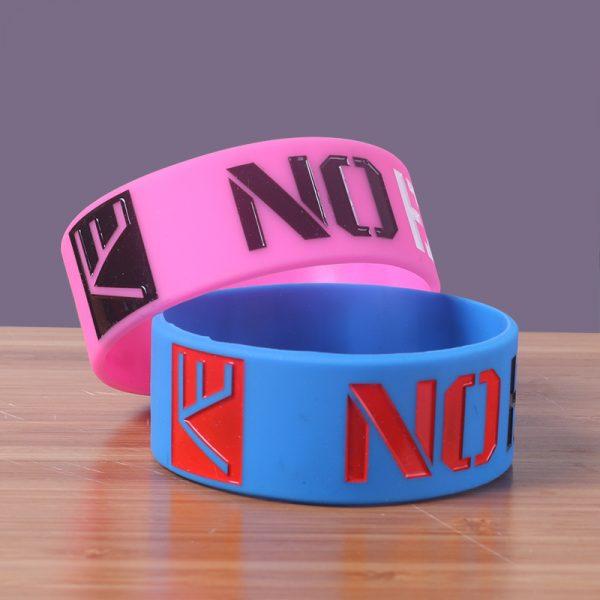 no excuse silicone wristband (6)