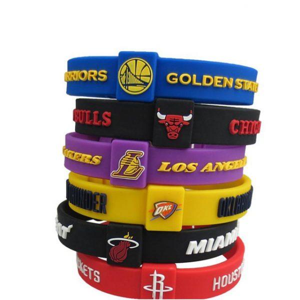 Adjustable basketball bracelet