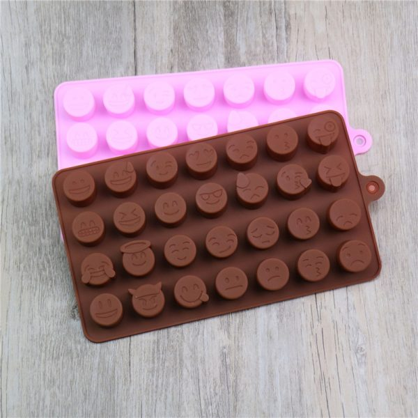 Emoji Chocolate Silicone Mold (1)