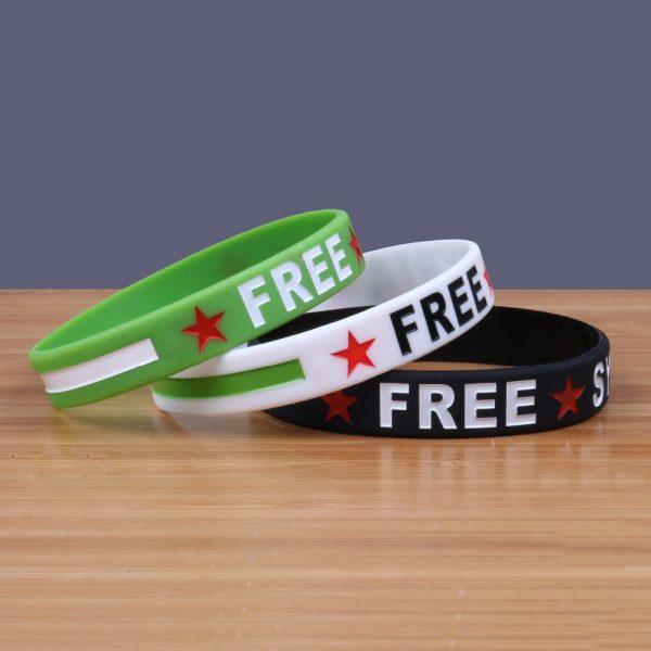 Free Syria Silicone Bracelets (3)