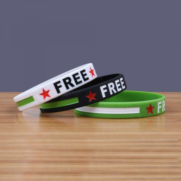 Free Syria Silicone Bracelets (4)
