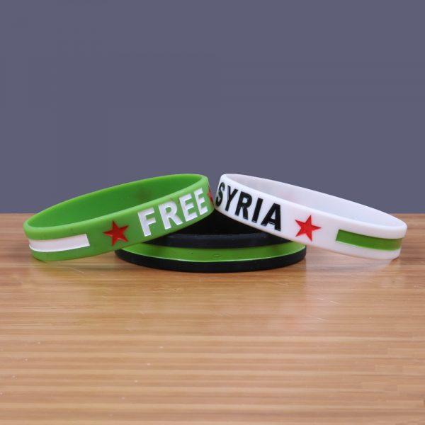 Free Syria Silicone Bracelets (6)
