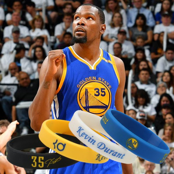 Kevin Durant Silicone Wristbands (3)