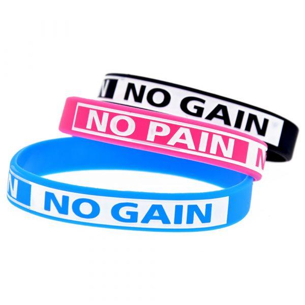 No Pain No Gain silicone wristband (4)