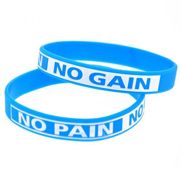 No Pain No Gain silicone wristband (5)