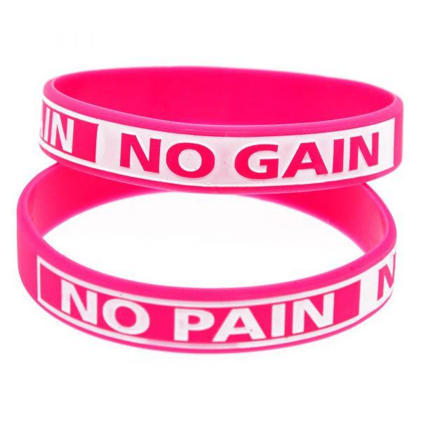 No Pain No Gain silicone wristband (6)