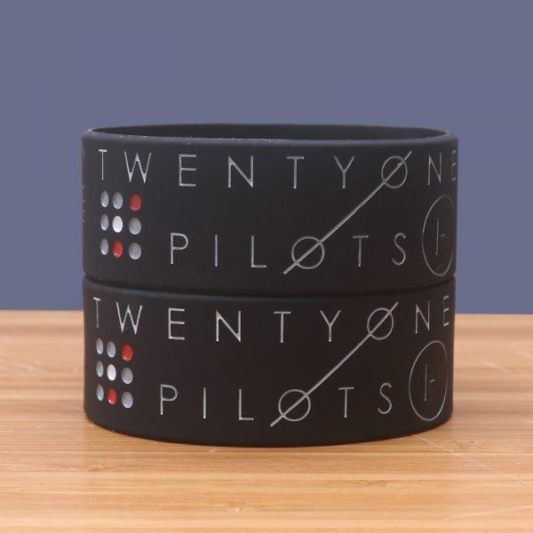 Twenty One Pilots Silicone Bracelet (2)