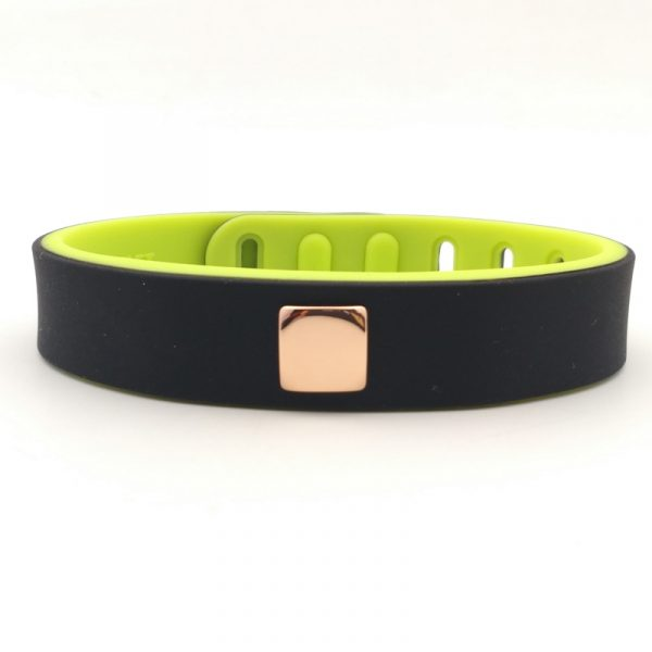 Two color silicone ion bracelet (7)