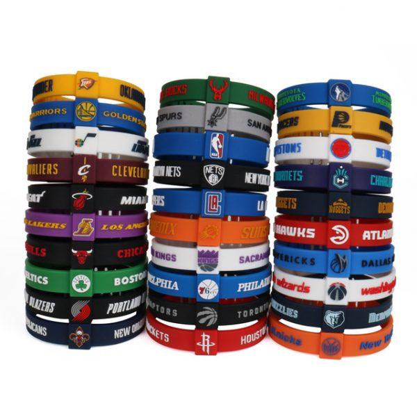 Basketball Team Wristbands (6)