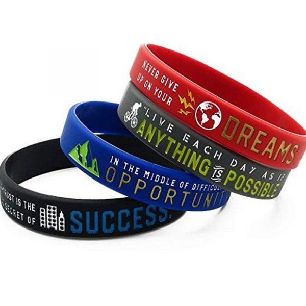 Motivational silicon wristband (3)