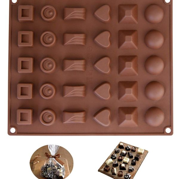 30 Cavity chocolate mold (6)