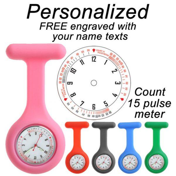 Custom nurse watch