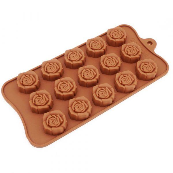Flower Shape chocolate mold (1)