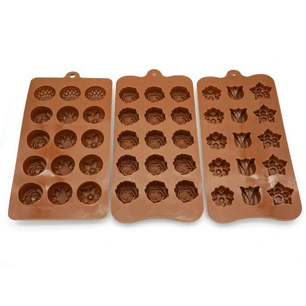 Flower Shape chocolate mold (3)