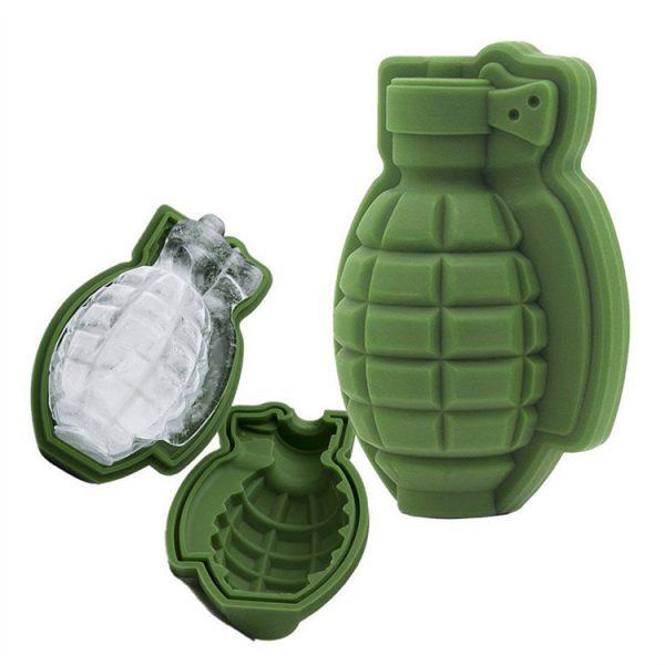 Grenade ice cube mold (8)