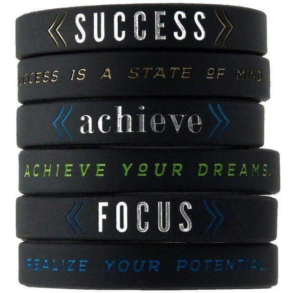 Motivational Silicone Wristbands (2)
