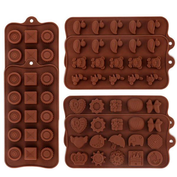 Silicone Chocolate Candy Molds (1)