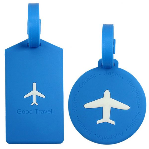 Silicone Travel Luggage Tags (1)