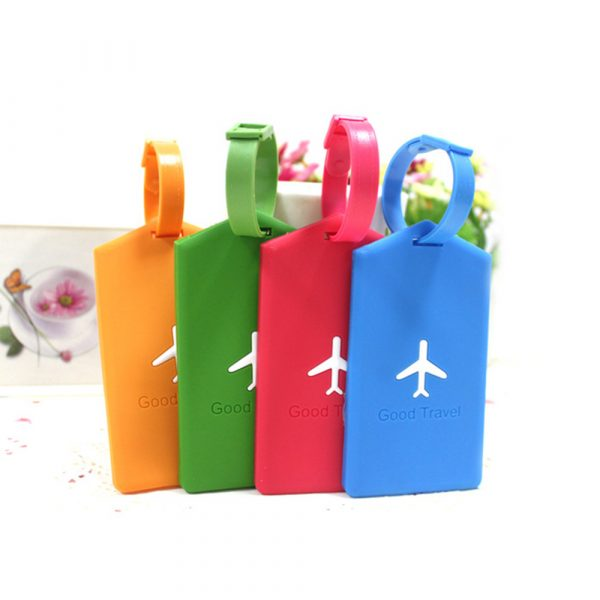 Silicone Travel Luggage Tags (5)