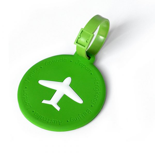 Silicone Travel Luggage Tags (6)