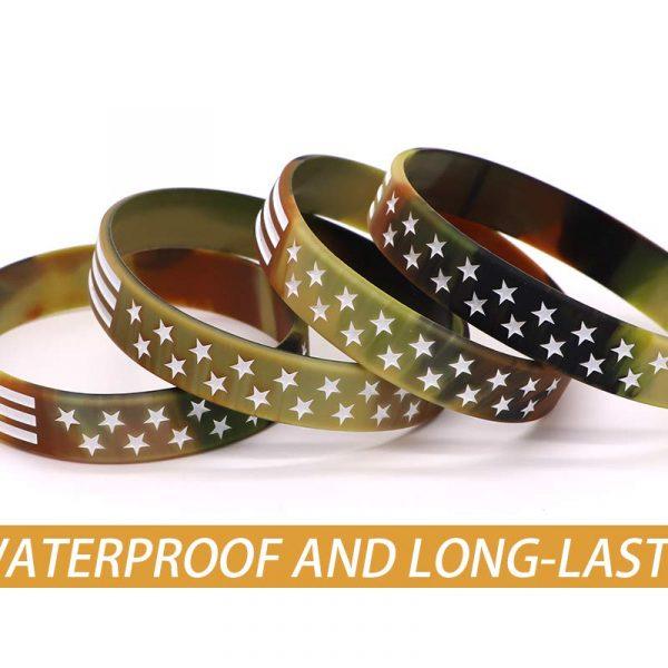 Thin Blue Line American Flag Bracelet (4)