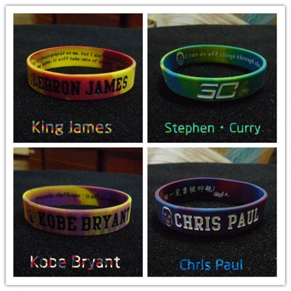 basketball star wristband silicon (6)