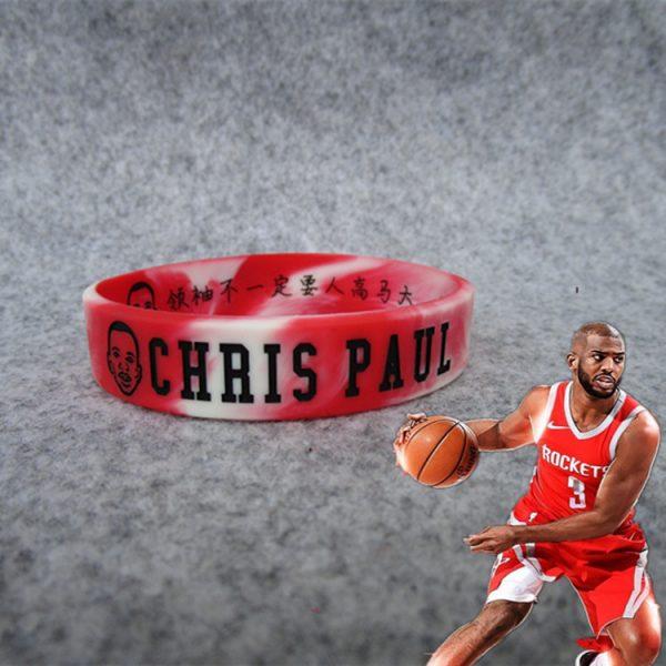basketball star wristband silicon (8)