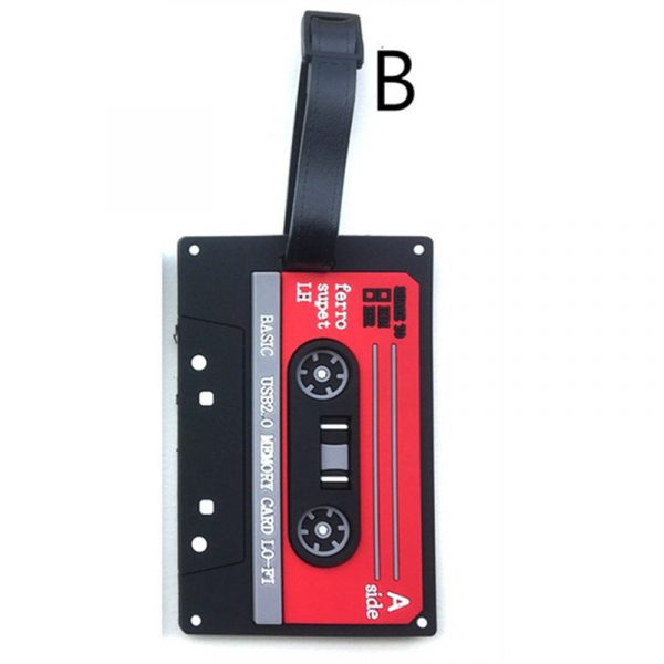 cassette luggage tag (2)