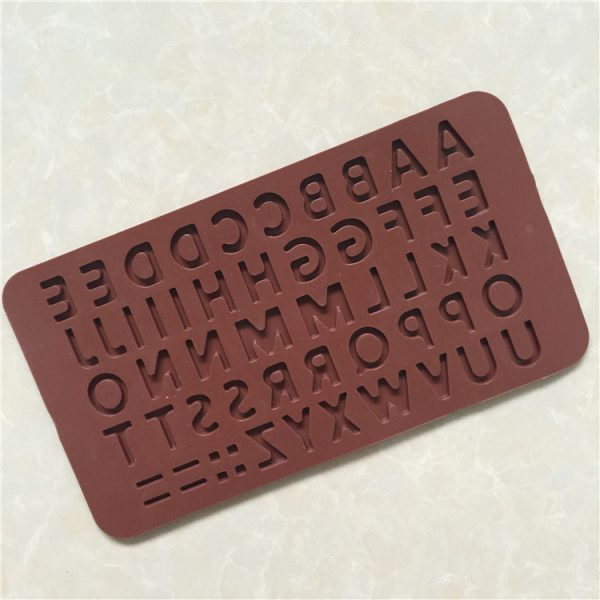 26 Letter Silicone mold (1)